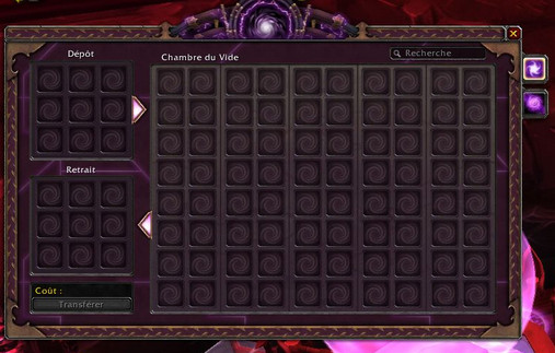 Stockage à Warlords of Draenor Chambr10