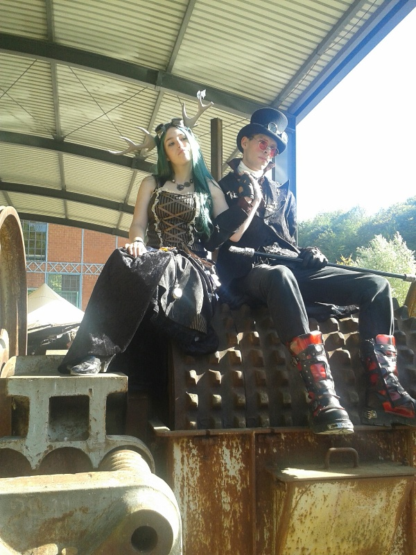 Steampunkconvention au Luxembourg.. 20140910