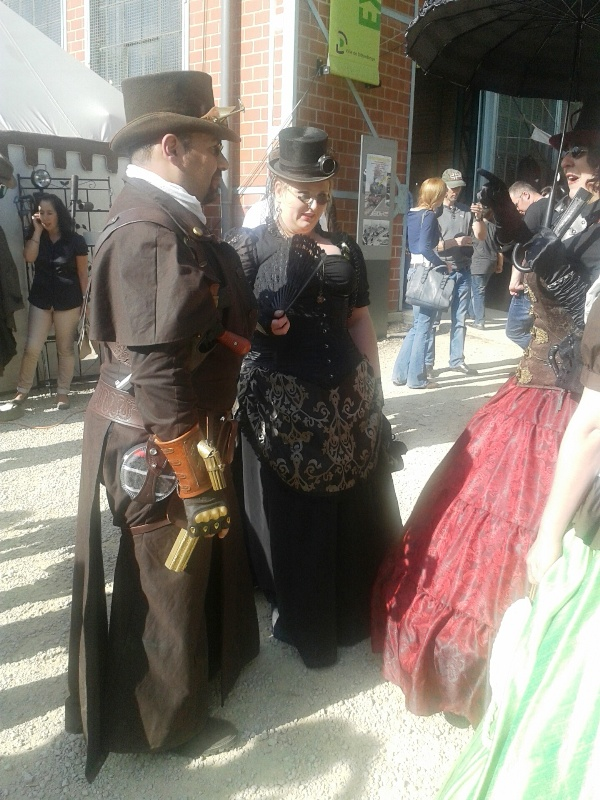 Steampunkconvention au Luxembourg.. 20140911