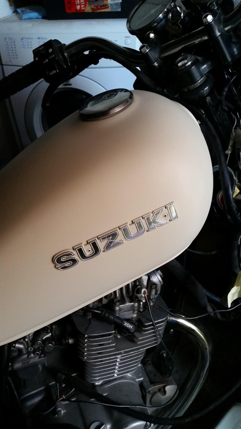 Suzuki 125GN Scrambler - Page 3 20141211