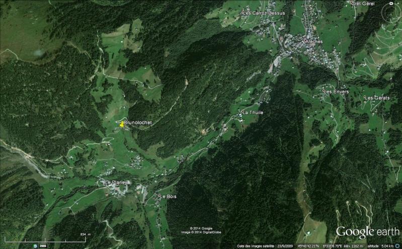 2014: le 12/08 à 21h45 - Boules lumineuses en file indienne - hauteur de arêches -savoie) - Savoie (dép.73) - Page 2 Brunol10