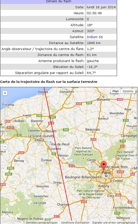 2014: le 16/06 à 2 h - Lumière étrange dans le ciel  - Clichy - Hauts-de-Seine (dép.92) So7510