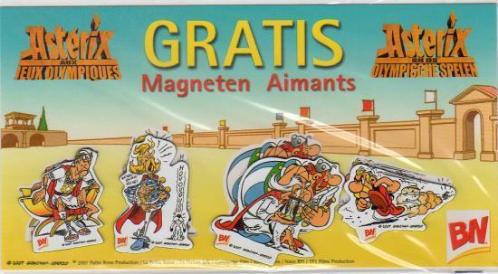 mes recherche sur Astérix d'Obélixchoux Magnet10