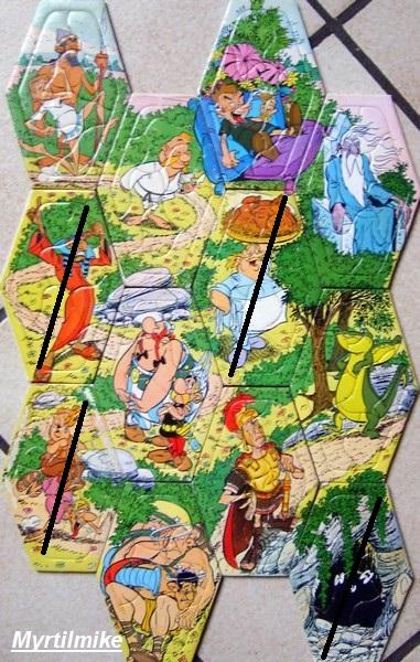 mes recherche sur Astérix d'Obélixchoux Puzzle10