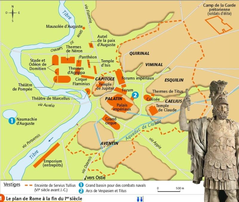 Plan de la Rome antique Rome10