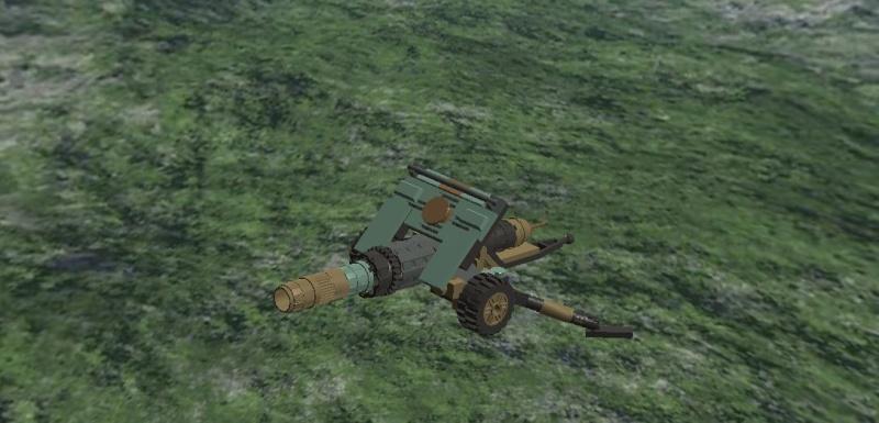 TAU-4 Towed Artillery Unit Ta-410