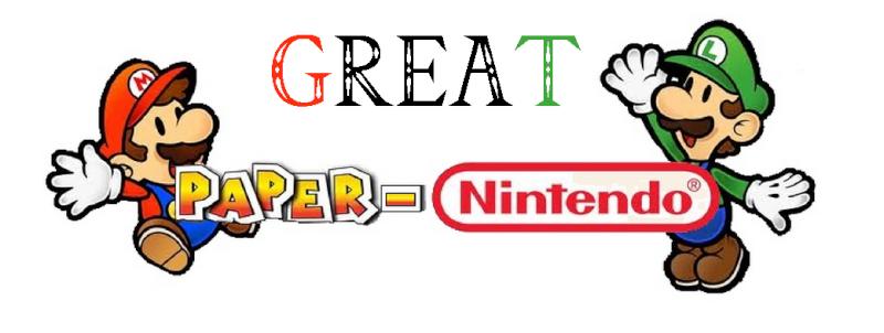 Paper-Nintendo