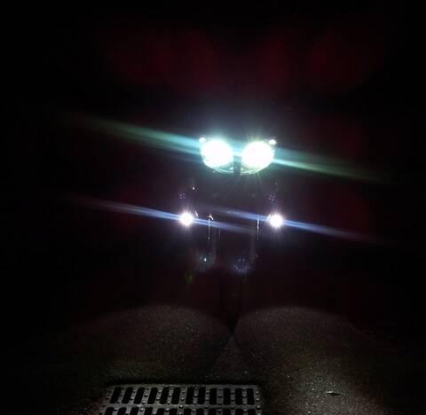CREE U2 30W LED Feux Ampoule Anti Brouillard Lumière Blanc Etanche pour Moto