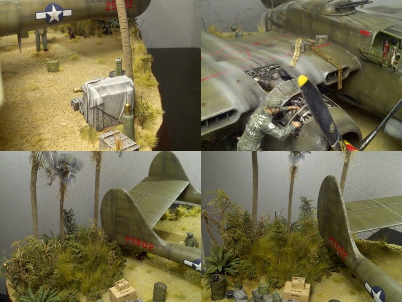 P-61  BLACK WIDOW / HOBBY BOSS 1/32 ( diorama ) - Page 3 P-61_710