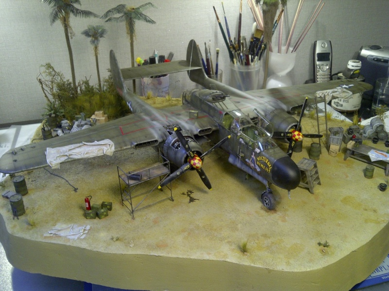 P-61  BLACK WIDOW / HOBBY BOSS 1/32 ( diorama ) - Page 2 Saint-13