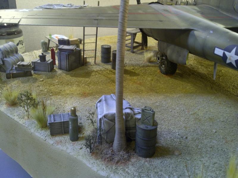 P-61  BLACK WIDOW / HOBBY BOSS 1/32 ( diorama ) - Page 2 Saint-17