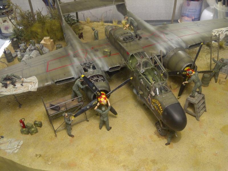 P-61  BLACK WIDOW / HOBBY BOSS 1/32 ( diorama ) - Page 2 Saint-20