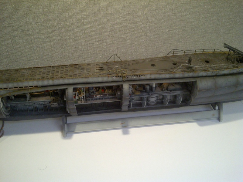 U-BOOT type VII C  revell 1/72 - Page 2 Saint-54