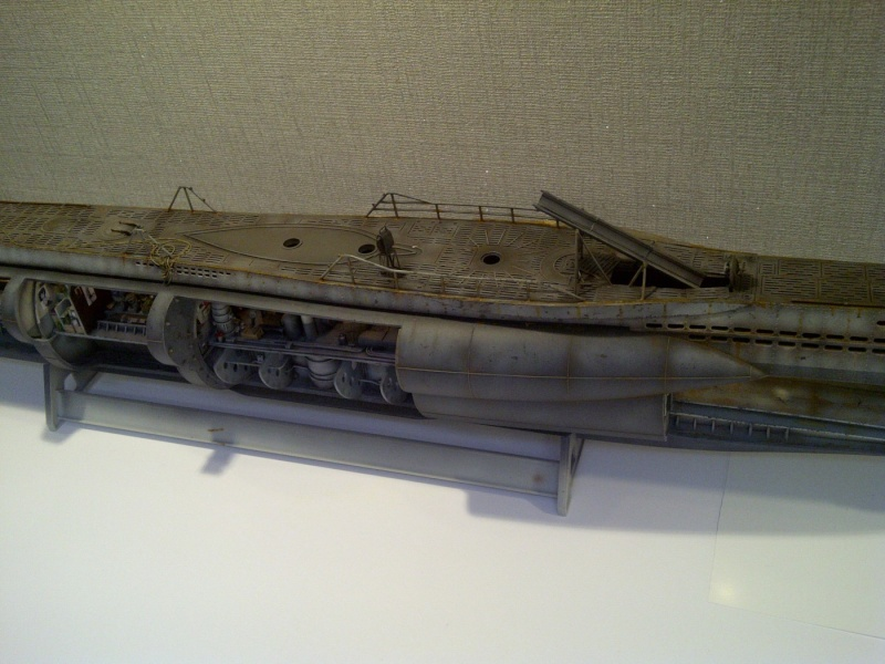 U-BOOT type VII C  revell 1/72 - Page 2 Saint-55
