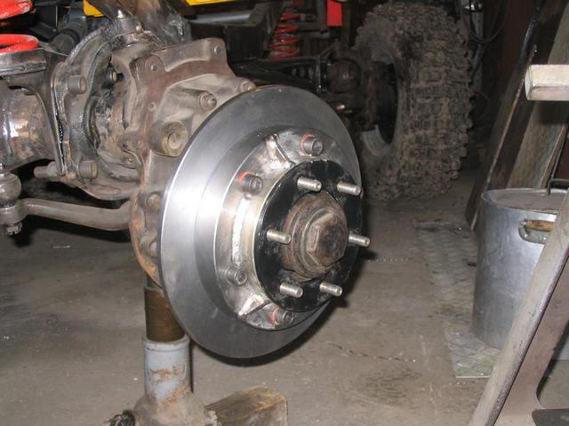 Conversion frein à disques 103pir10