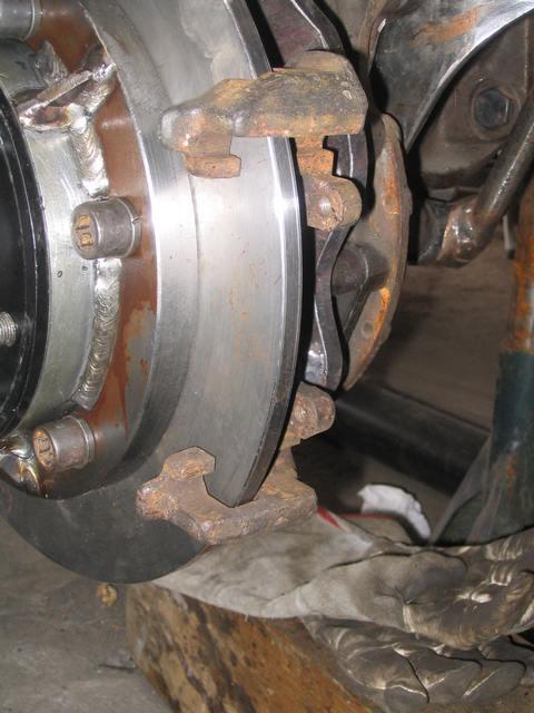 Conversion frein à disques 142pir10