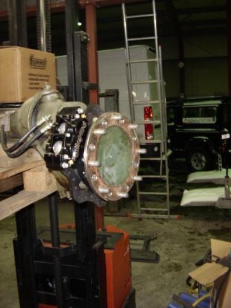 Conversion frein à disques Sta41210