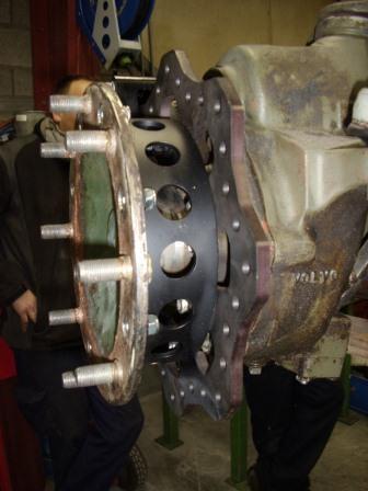 Conversion frein à disques Sta41211
