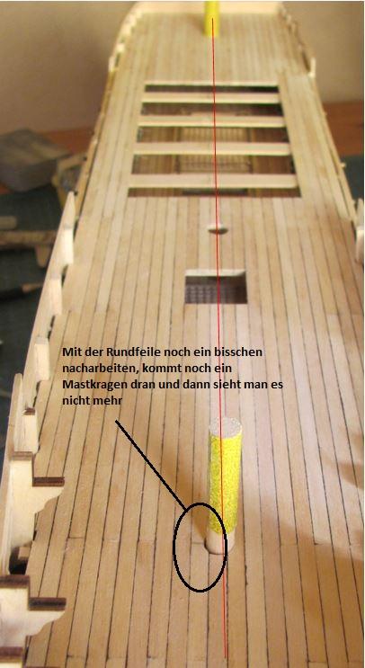 Dany Victory Baubericht/Verlauf Deck_m10