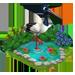 L'étang à poissons [Dans le jardin fermier et aquatique] Blackn11