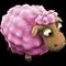 Brebis /Mouton Valentin/Mouton Vert/Mouton d'Halloween/Mouton de Noël/Mouton d'Hiver/Mouton Printanier/Mouton Fêtard/Brebis Rouge => Laine Lovesh10