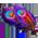 Paon violet d'Inde => Plume de Paon Violet d'Inde Purple15