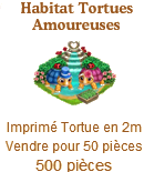 Habitat Tortues Amoureuses => Imprimé Tortue Sans1270