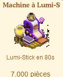 Machine à Lumi-Stick  Sans1392