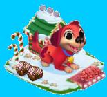Chiot Rouge => Truffe au sucre d'orge Sans1446