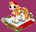 Poney de Noël Sans1487