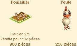 Poulaillers / Poulailler Coloré / Poulailler des Bleus / Poule Football / Poulailler Flocon de Neige => Oeuf Sans_501