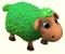 Brebis /Mouton Valentin/Mouton Vert/Mouton d'Halloween/Mouton de Noël/Mouton d'Hiver/Mouton Printanier/Mouton Fêtard/Brebis Rouge => Laine Sans_628