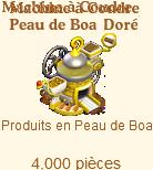 Machine à Coudre Peau de Boa Doré Sans_t13