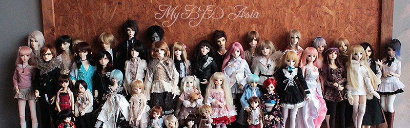 OR-doll = Anderl head(open eyes) + Glass eyes Mybjda10