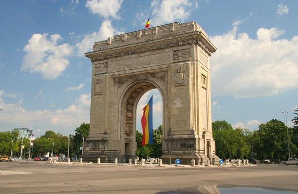 [Roumanie] - BUCAREST : l'Arc de Triomphe  Bucare11