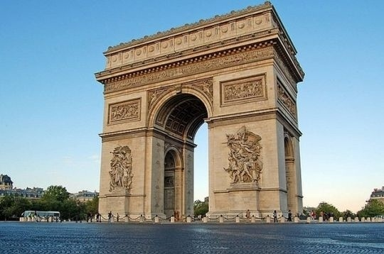 [Roumanie] - BUCAREST : l'Arc de Triomphe  Paris_10