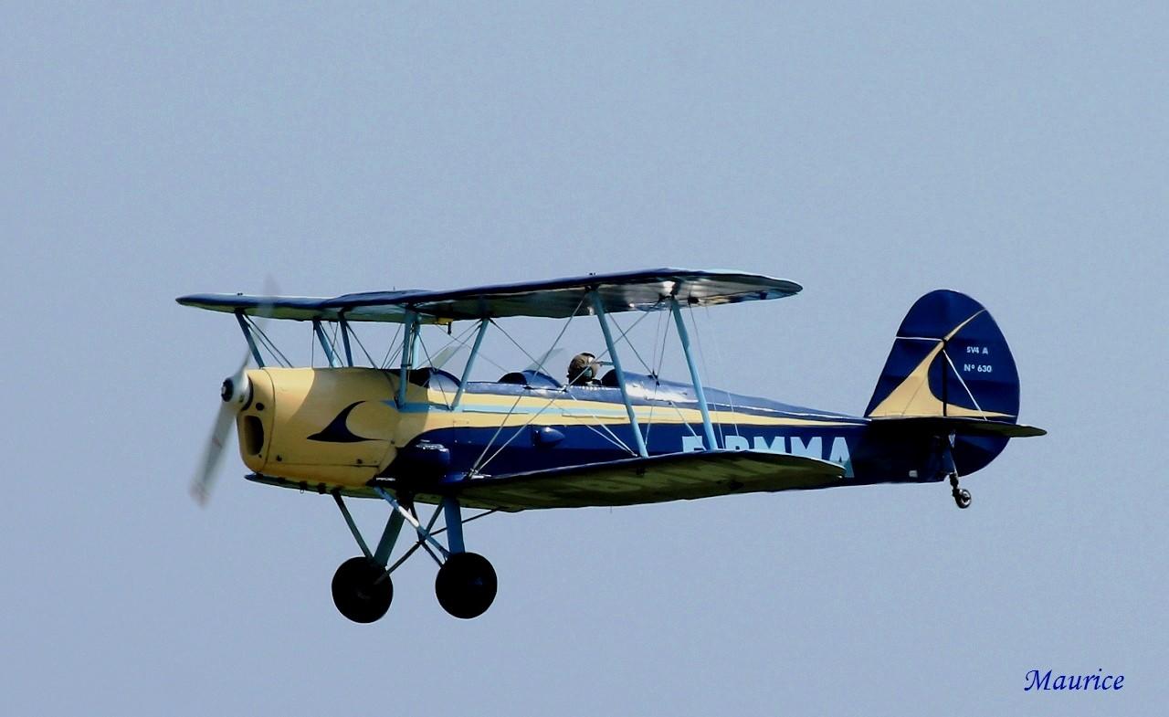 Stampe, Dash 8, Écureuil & Alpha Jet le 25/07/14 2507-910
