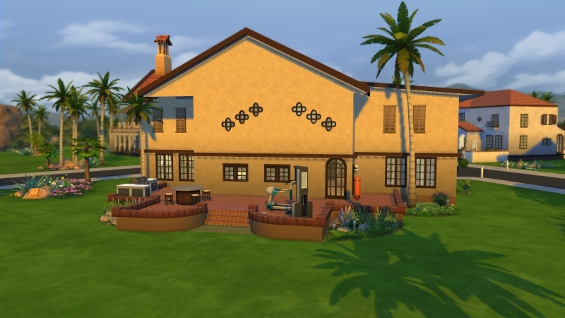 Villa Amore' The Sims 4  09-08-10