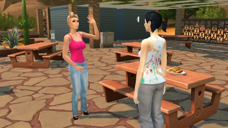 One Broke Sim Mamaj's Rosebud challenge 09-30-22