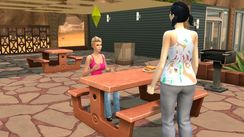 One Broke Sim Mamaj's Rosebud challenge 09-30-25