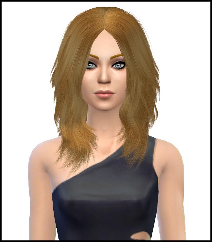 Astraea Nevermore Cazy Hair 24 Retextured by Simista Astrae10