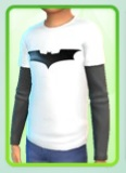 Batman Top for male child by mamaj Batman11