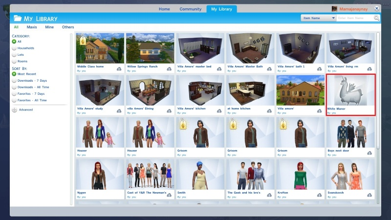 Sharing creations in TS4 (non-gallery) & Downloading Tutorial Findin12