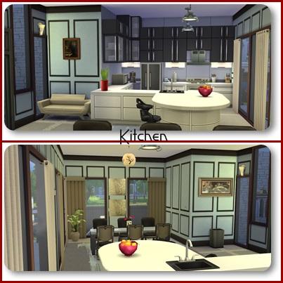 Crimson Home by mamaj Kitche11