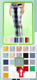 Mamaj's tye-dyed skinny leg jeans Pants12