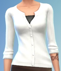 Solid White cardigan for females by Mamaj Solid_10
