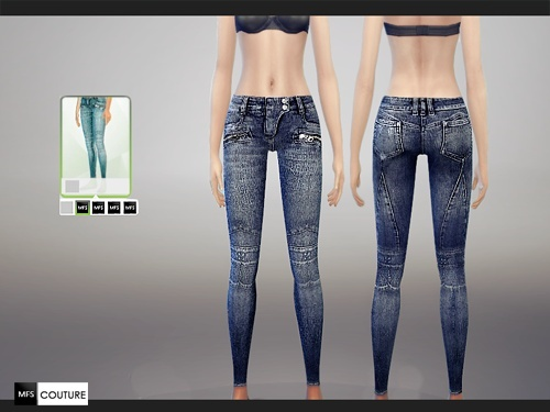 Skinny Fit Jeans by .MF SIMS  Tumblr12