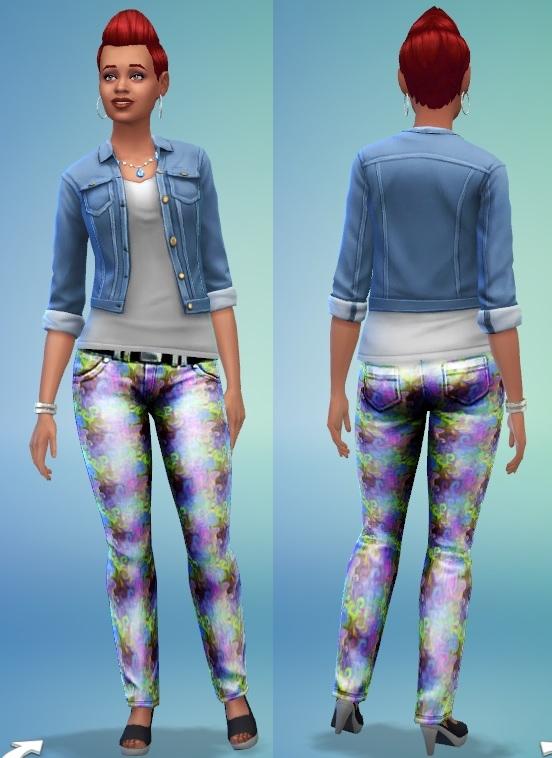 Mamaj's tye-dyed skinny leg jeans Tye_dy10