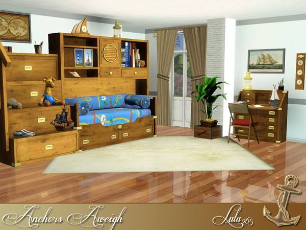 Anchors Aweigh Teen bedroom by Lulu265 W-600h12
