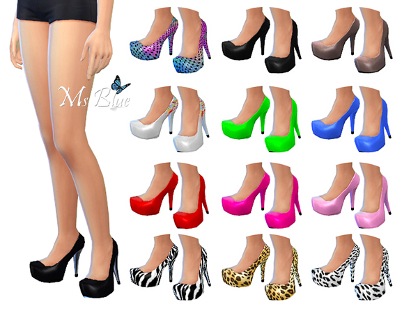Imani Pumps by Ms Blue W-600h23